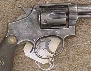 This is not the actual revolver, this is an old M&P with similar wear