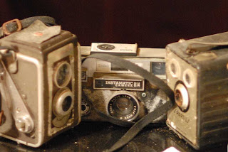 Old moldy cameras
