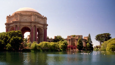 Palace of Fine Arts, San Francisco, July 1996