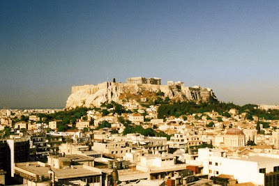 The Acropolis, Athens, June 1990