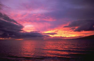 Sunset, November 2008, Maui