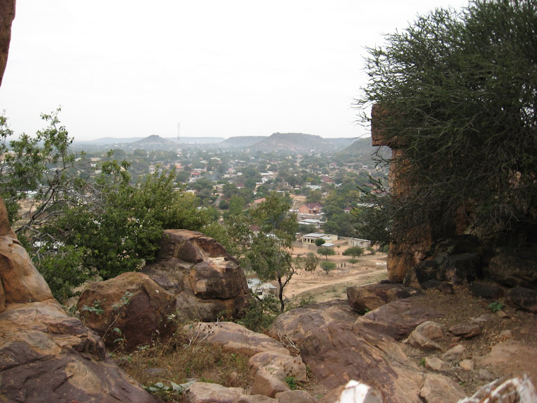 A view of Mochudi, a suburb of Gaborone