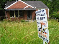 Foreclosed property in metro Atlanta