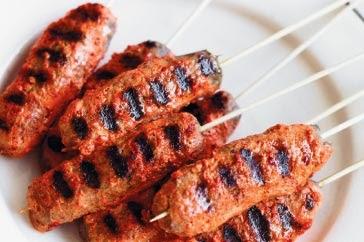 LEBANESE RECIPES: Tandoori lamb kebabs recipe