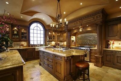صورة مطبخ جميل جدا مطبخ رومانسي في