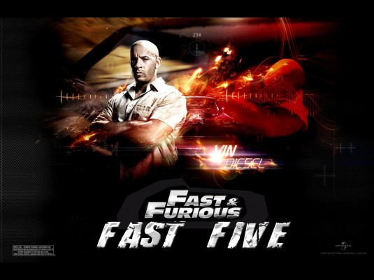 fast five official poster. Fast Five Poster 2011 Pictures