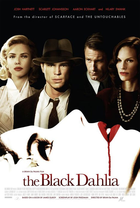 The Black Dahlia Movie 2006 Poster