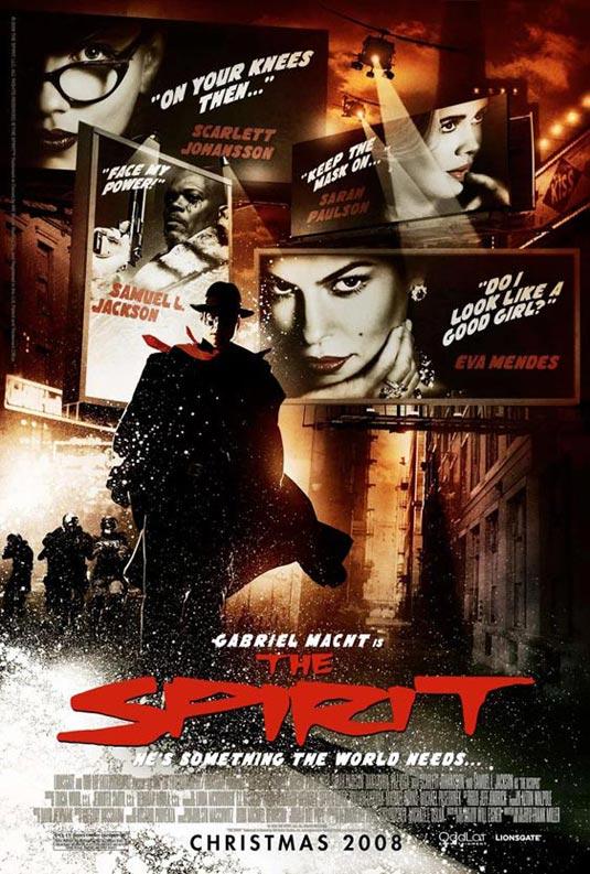 The Spirit Movie 2008 Poster