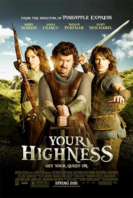 Your Highness Movie 2011 Poster