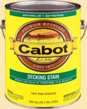 DeckingStain CABOT Decking Stains