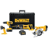 DeWalt+4+Tool+Cordless Home Improvement Tool Gift Suggestions