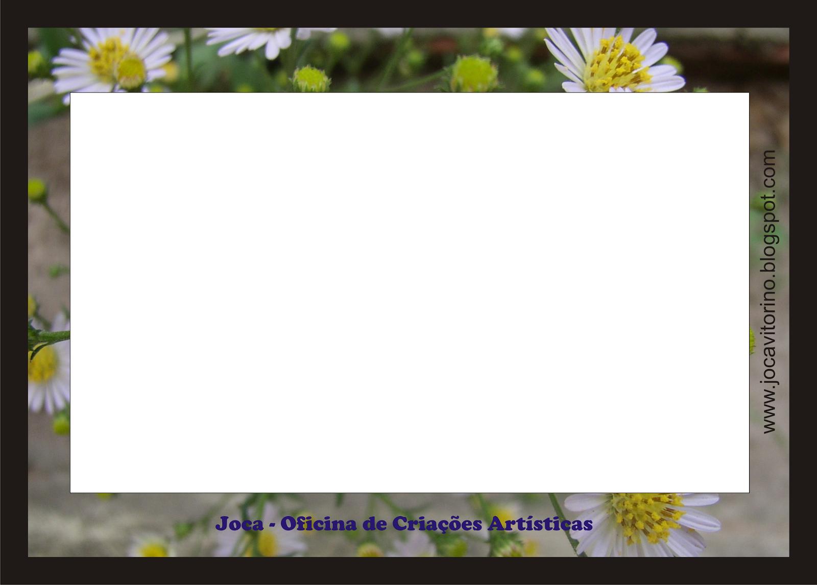 É fácil aplicar a(s) foto(s) nas molduras, depois é só salvar e ...
