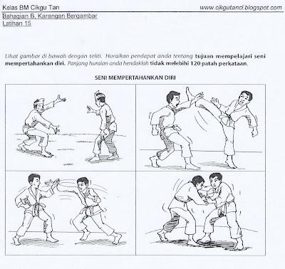 Karangan Bergambar - Tujuan Mempelajari Seni Pertahanan Diri