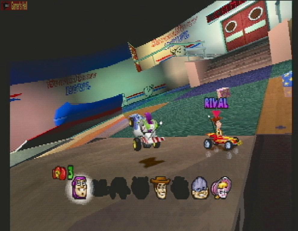Toy Story Racer : Descarga juegos gratis y discos