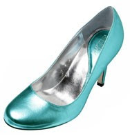 Patricia Field for Payless Heiress Blue Pump