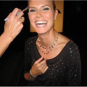 Heidi Klum Clover Necklace
