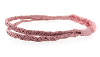 Stacey Lapidus Double Braided Silk Headband
