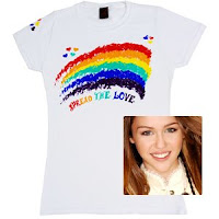 2Love Collection Miley Cyrus Rainbow Burnout