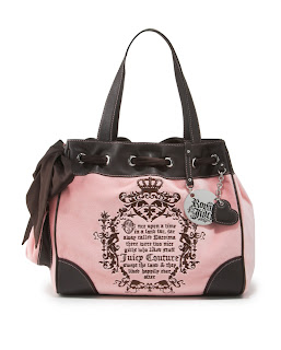 Juicy Couture Day Dreamer Velour Tote