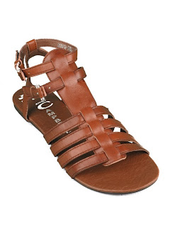 Browns ID with JC Gladiator Sandal