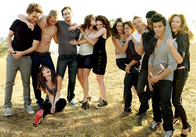 Twilight Cast in Vanity Fair Photo Shoot