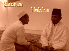 Suasana Setoran Hafalan Al Qur'an