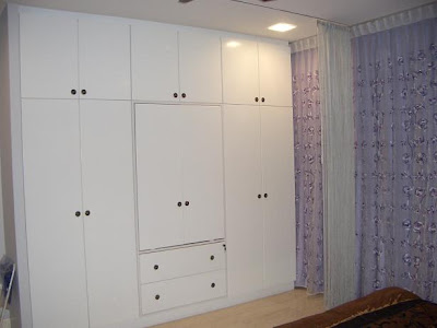 bedroom wardrobe designed by bstrenovation