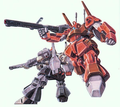 Mobile Suits nice anime
