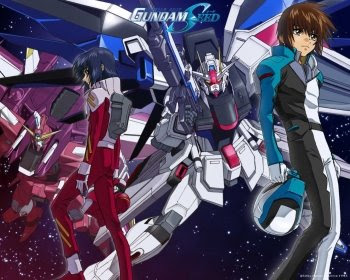 The Gundam Seed poster