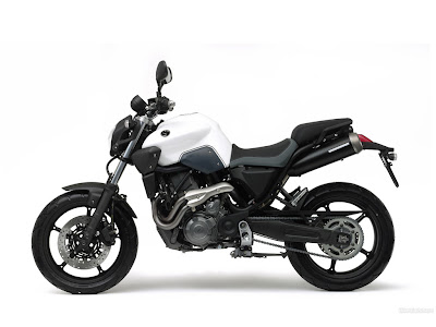Yamaha MT-03 side view