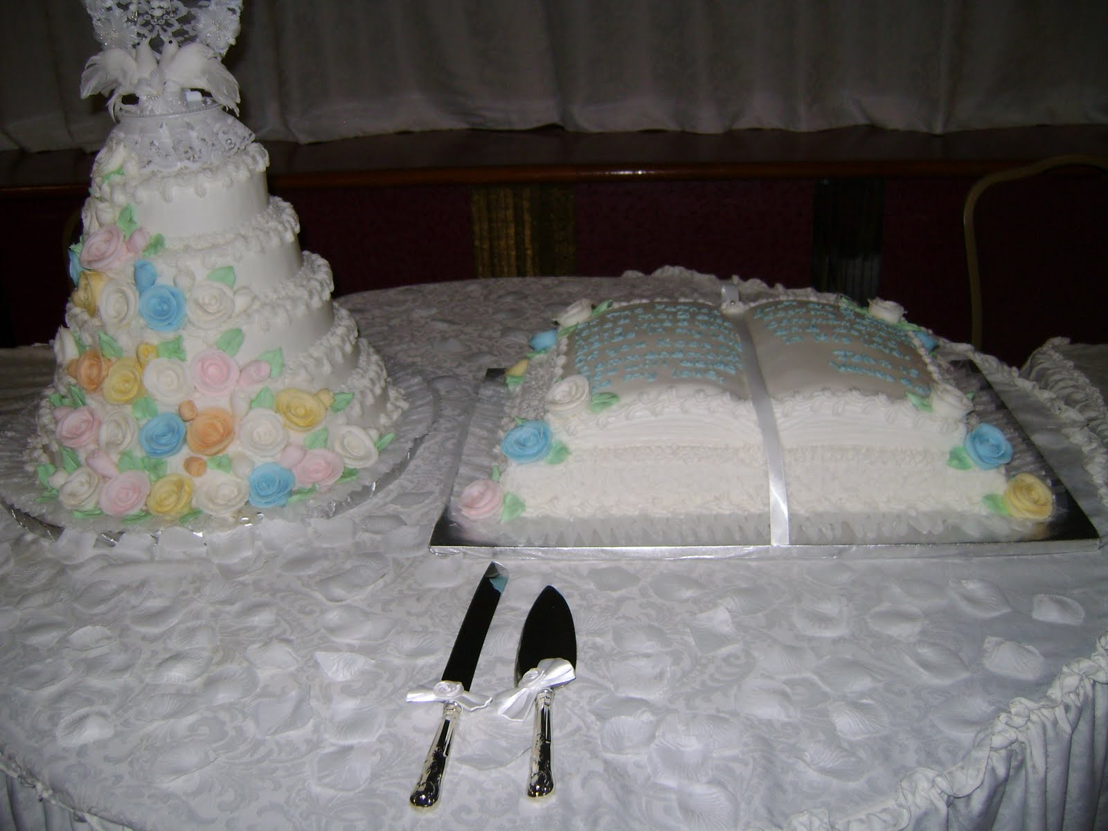 Bible Shaped Cake http://hawaiidermatology.com/bible/bible-shaped-wedding-cake.htm