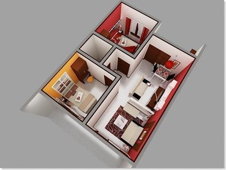desain interior rumah minimalis type 70 | rumah unik minimalis