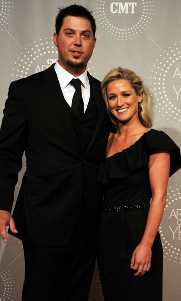 Josh Beckett and wife Holly Fisher