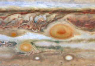 manchas rojas de Júpiter