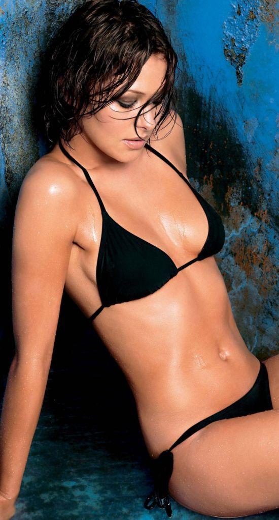 emma griffiths in two piece bikini