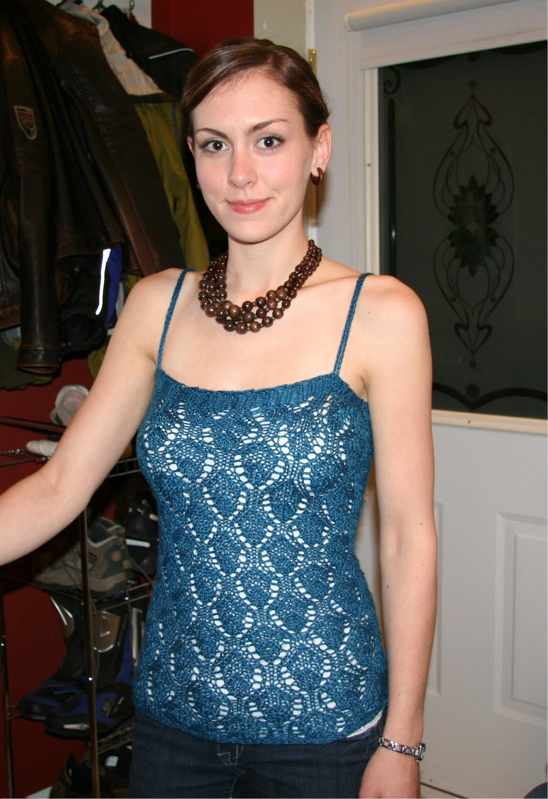 COOL BEANS...: Chalice Lace Tanktop