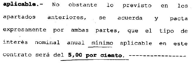 Pasar a mejor vida el principio del fin de la cl usula for Clausula suelo cajamar