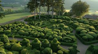 Merqueyssac Garden