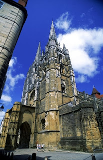 The Cathedral in Bayonne
