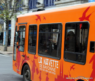 Bus in Bayonne
