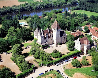 The Milandes castle in Dordogne