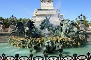 Details Monument aux Girondins