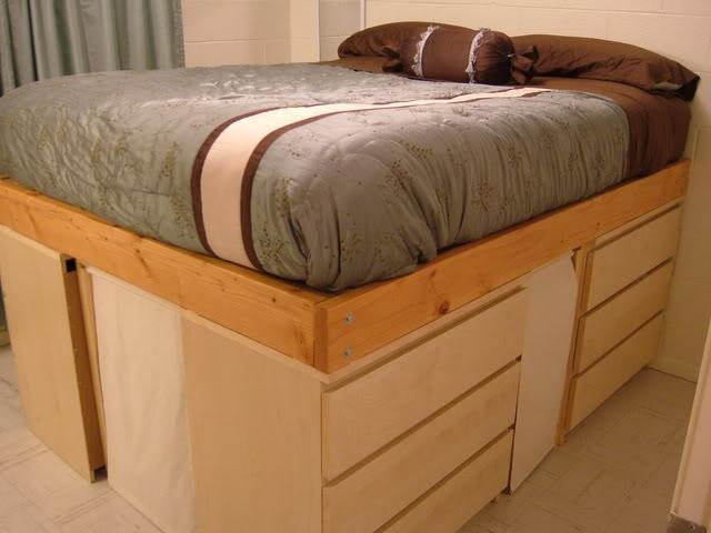 loft bed frame and elevated laptop stand. Black Bedroom Furniture Sets. Home Design Ideas