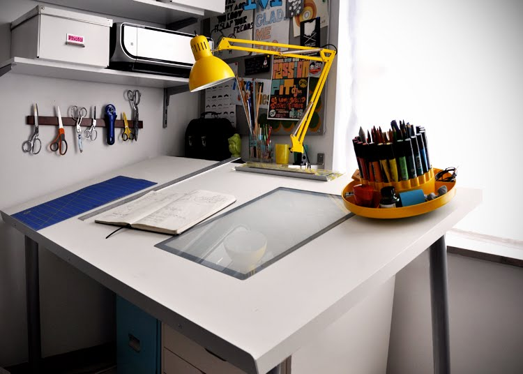 Make A Diy Drafting Table From An Ikea Desktop