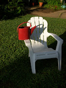 My Red Watering Can