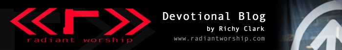 radiant worship blog >> short devos