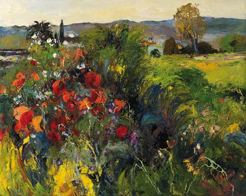 Russian Paintings Of Women Landscape Painter Ramo...