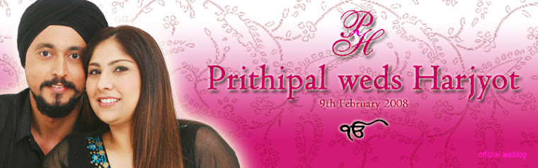 Prithipal weds Harjyot
