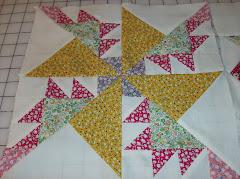 Block 1 of David's quilt