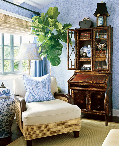 Auction Decorating Chinoiserie is always chic